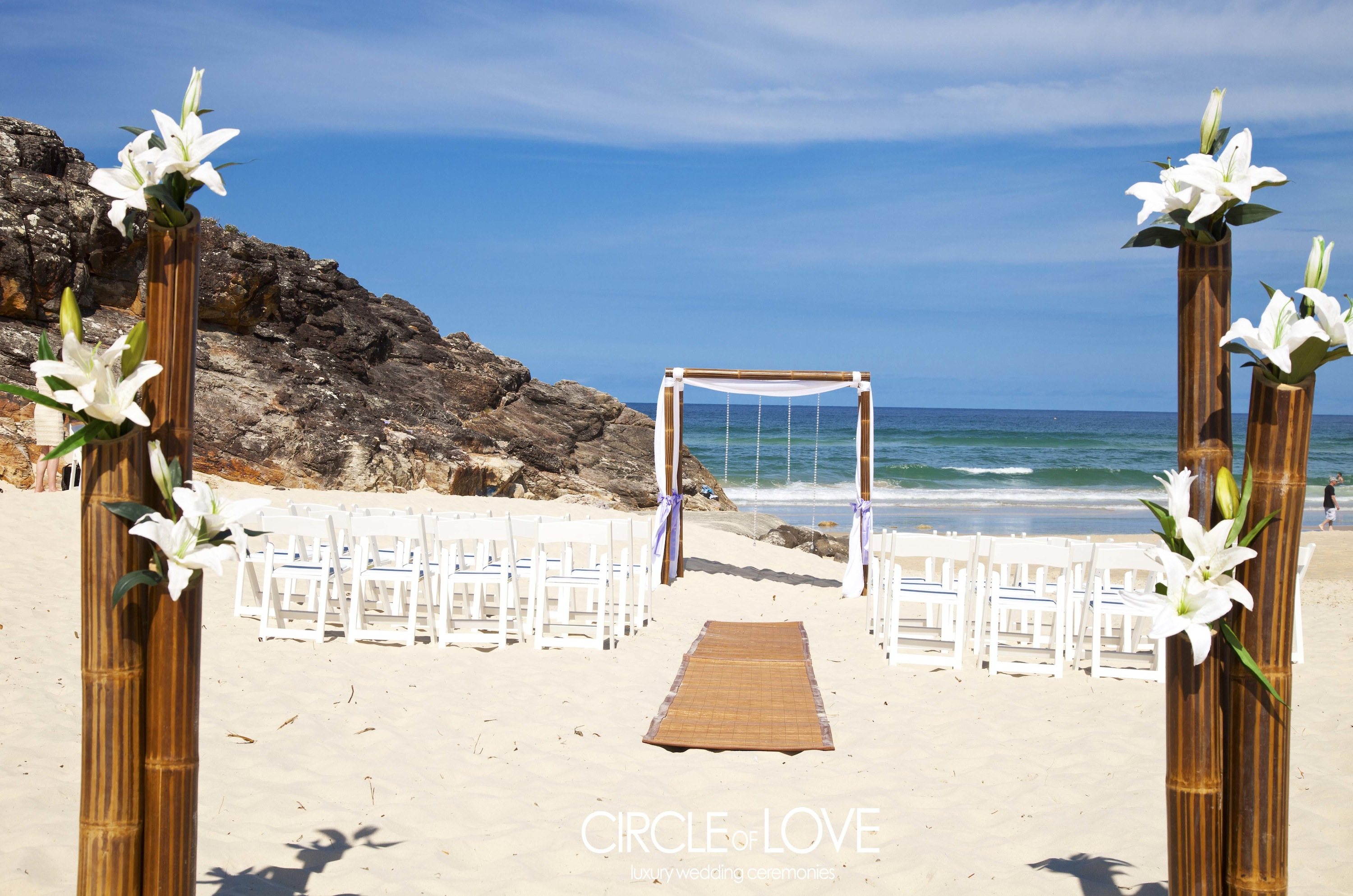 Gold coast beach weddings and ceremonies perfect location for East coast beach wedding locations