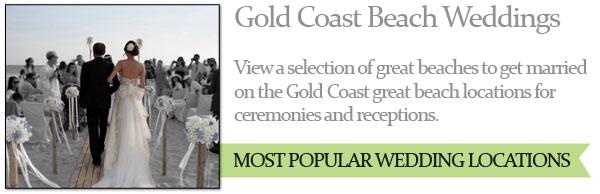 Gold Coast Beach Weddings