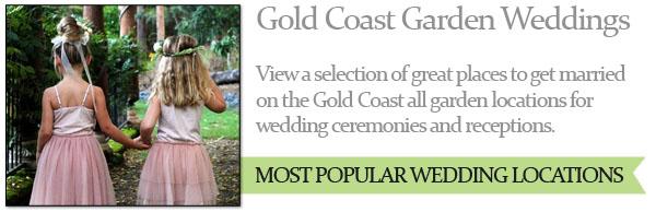 Garden gold coast wedding ceremonies