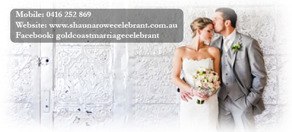 Gold Coast Marriage Celebrant Shauna Rowe