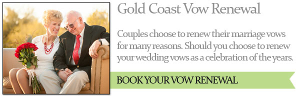 Gold Coast Vow Renewal Ceremonies